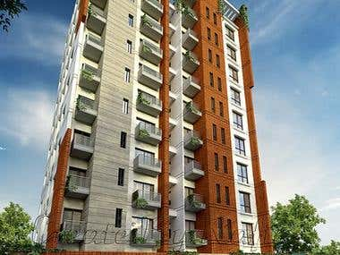 G+ Eight (8) Storied residential Project at Dhaka, Banglades
