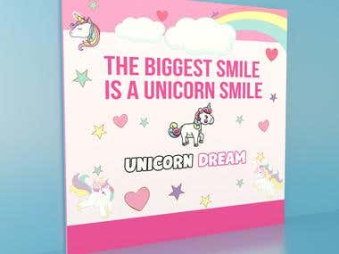 Unicorn Wall Banner