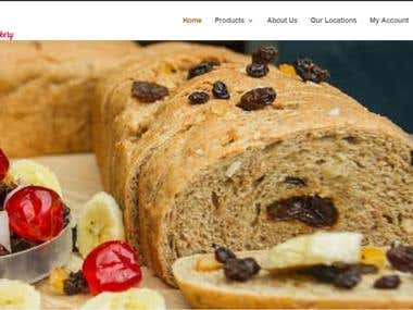 Online Bread Shop