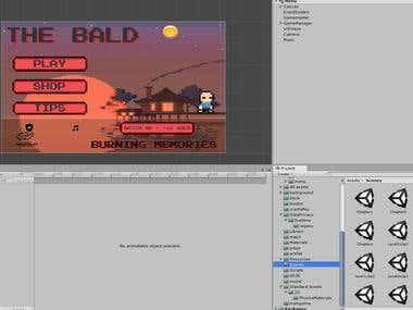 2D platformer game using Unity3D