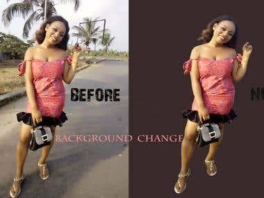 BACKGROUND PHOTO CHANGE