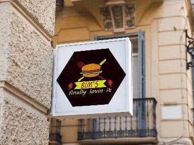 Burger Company's logo