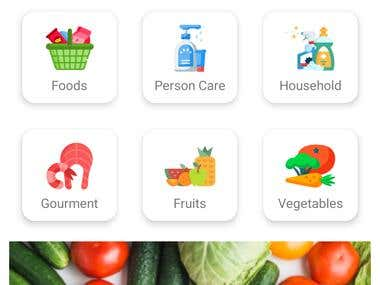Online Grocery Android Mobile App