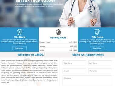 Wordpress Dental Site