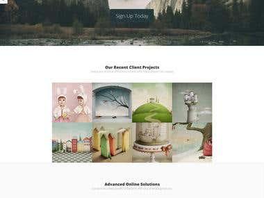 Wordpress for Modern Design site