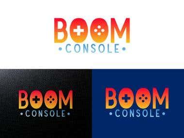Boom Console Logo Design