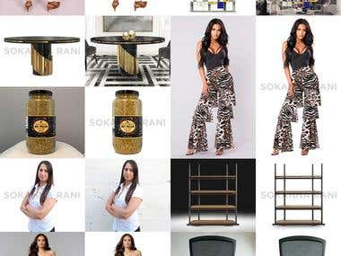 Background Remove / Clipping Path Portfolio