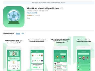 GoalGuru - football prediction