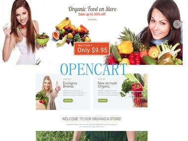 OPENCART Site