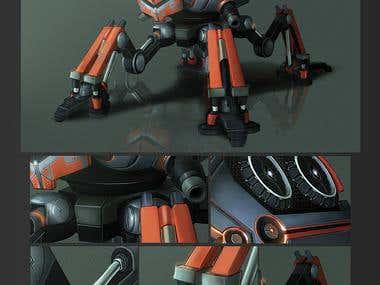 Quadruped Bot