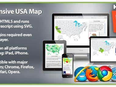 HTML5 Interactive Maps