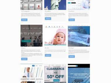 Ahmedelcheikhcom web portfolio