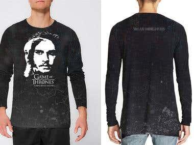 Game of Thrones Fanart Shirt Design