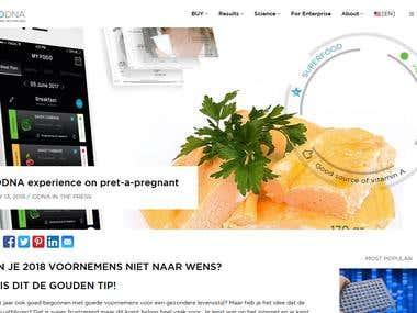 PHP & ReactJS Site