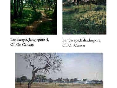Landscape Painting (Oil Paint)