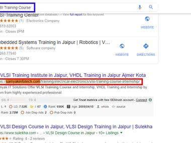 "Keyword:- ""VLSI Training Course"""