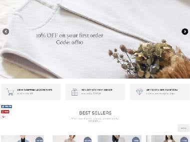 PARAFAD WooCommerce Website