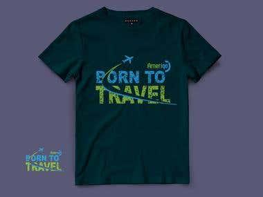 Travel kit T-shirt design Entry