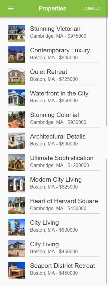 Real Estate Web/Mobile Application | Freelancer