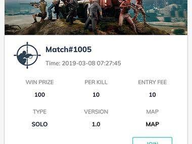 BattleWorld - Online PUBG Tournaments organizer Android App