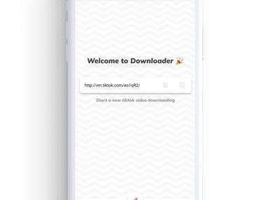 Video Downloader for tik tok Android App