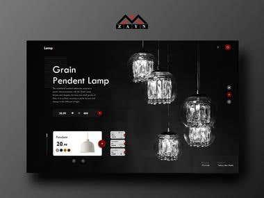 Landing Page - LampMarket