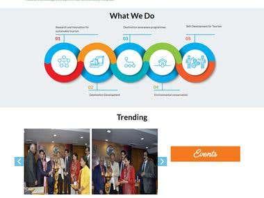 Experience Bharat - Company Profile Website