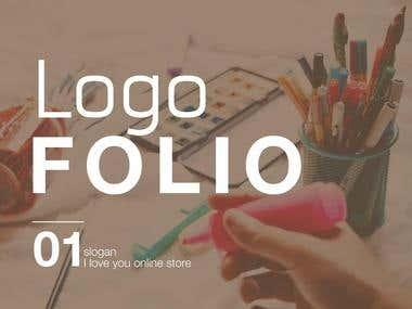 Logo Design | The slogan I love you online store.