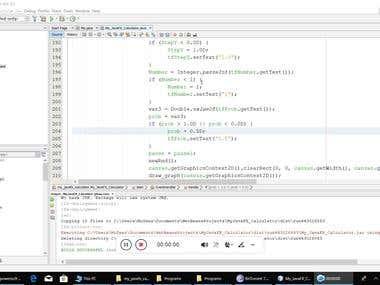 Java desktop Application