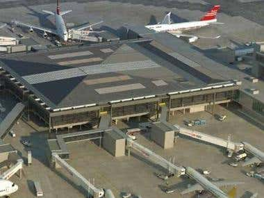 Structural design of Gatwick Airport Pier 6