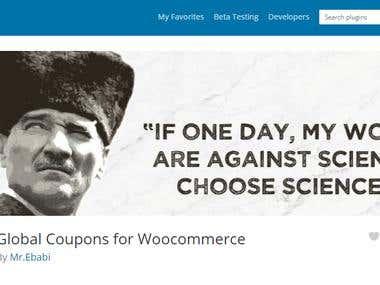 Wordpress/Woocommerce Plugin