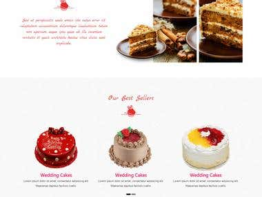 eCommerce for cake shop