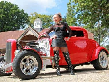 Ford Model B Deuce Coupe for Leukaemia & Lymphoma Research