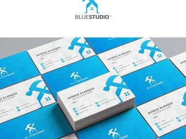 blue studio logo