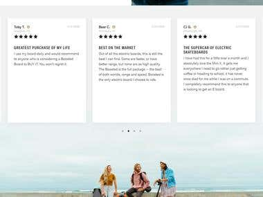 Online Store/E commerce Website