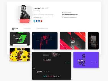 UI Designer Platform Concept
