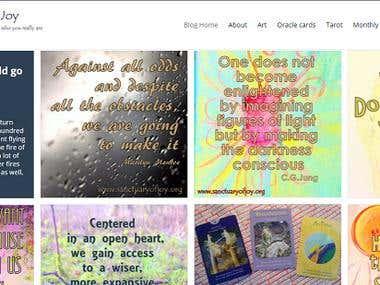 Sanctuary of Joy's blog