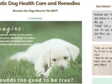 Russian-English Translation of the Website (Veterinary)