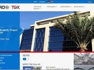 website design mero-tsk