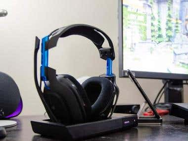 HEADSET DESIGN AND RENDERRING