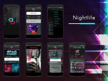 Night-Life Application