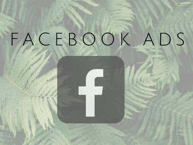 Create and set ads on Facebook