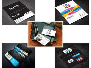 Business card designs. Click for better view :)