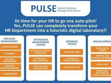 Pulse- HRMS Portal.