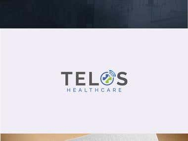 Logo design for Telos Healthcare
