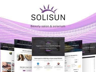 Solisun - Beauty Salon & Solarium Website