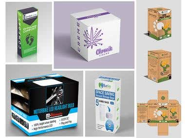 Package designs. Click for better view :)