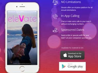Elevate Dating App