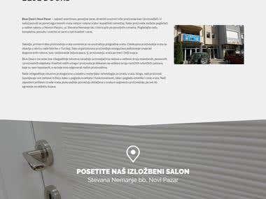 Blue Doors Wordrpess Website