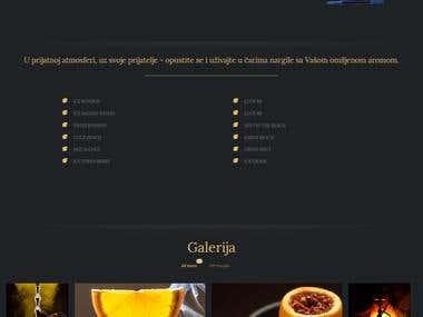 Vip Nargile Wordpress Website